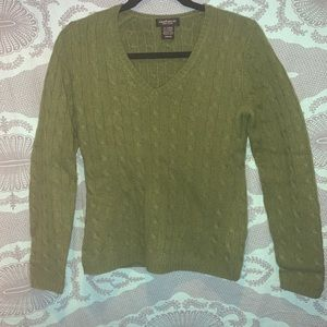 Kelly Green Cashmere